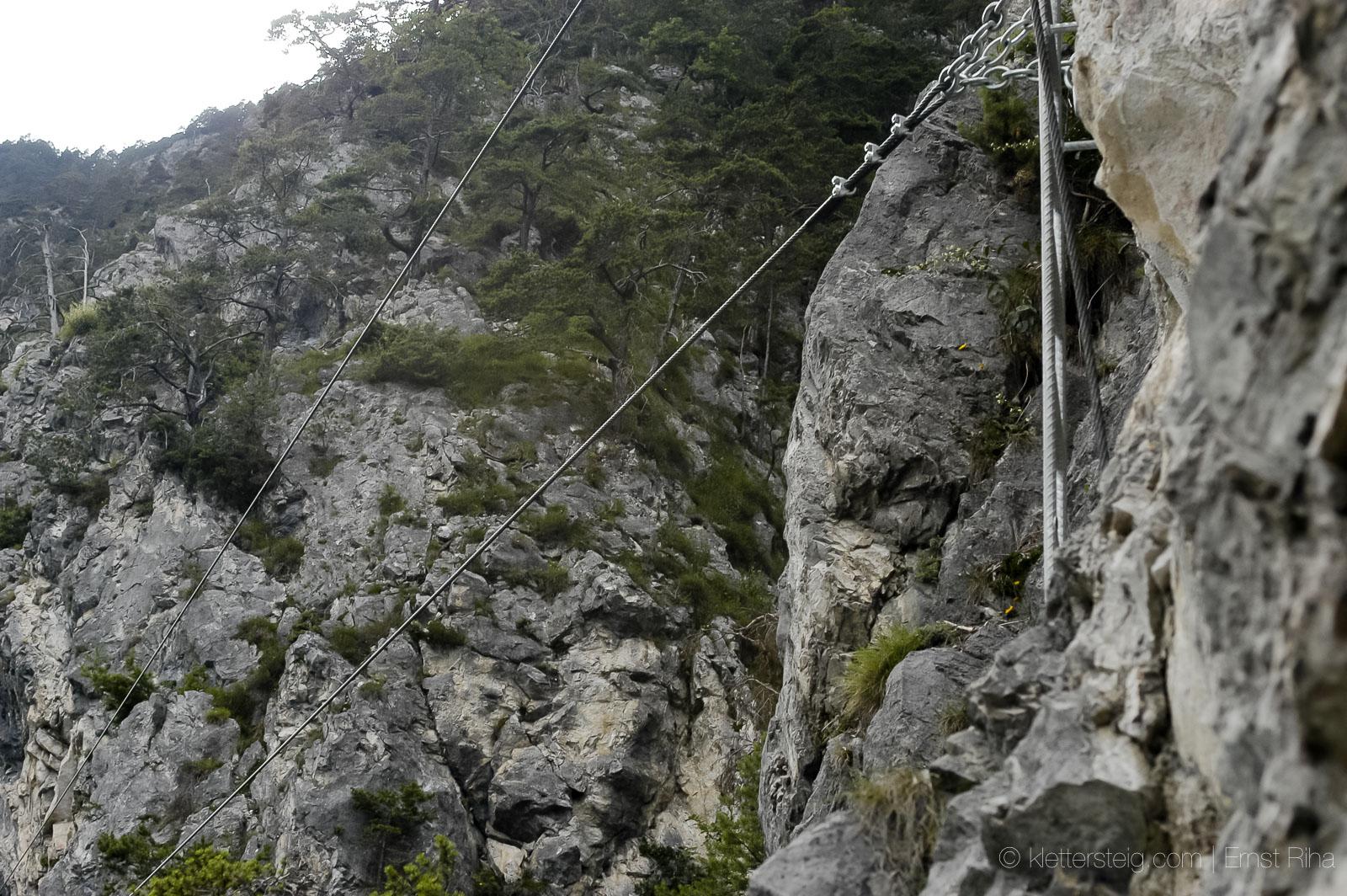 CRAZY EDDIE Klettersteig